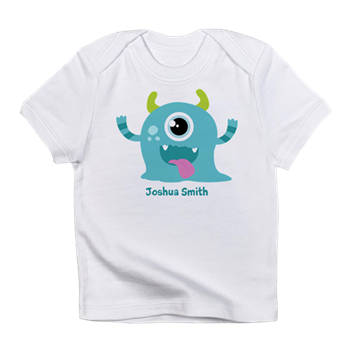 Blue Monster Infant T-Shirt